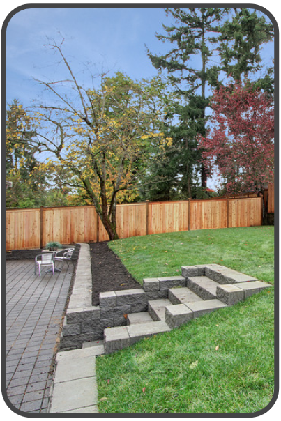 LANDSCAPING & FENCING - Our Landscape Team creates outdoor living spaces of your dreams.