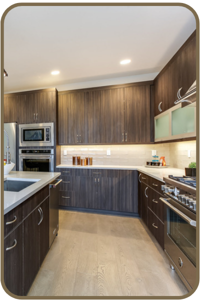 CUSTOM REMODELS - Our Skilled Team and Contractor will help you realize your remodel vision from start to finish.