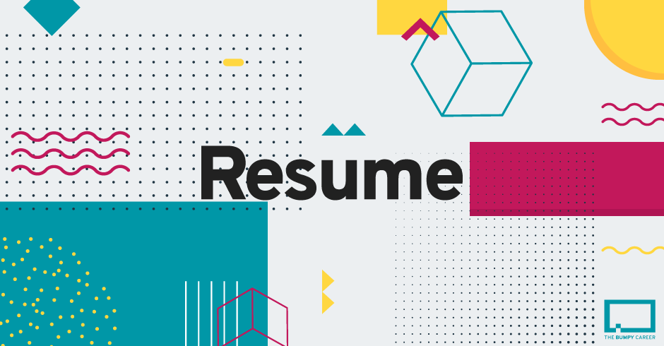 What S The Difference Between A Cv And A Resume The Bumpy Career