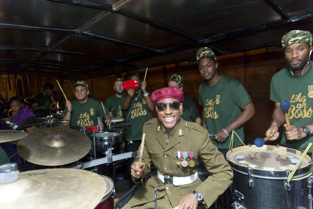 David performing at the UK National Panorama finals with Croydon Steel Orchestra