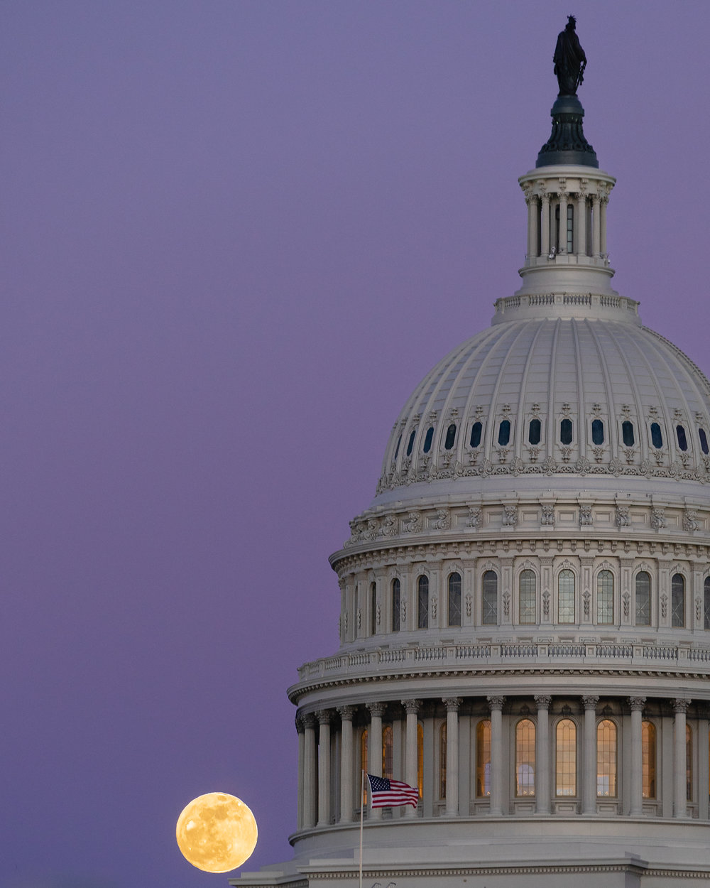 Capitol Supermoon