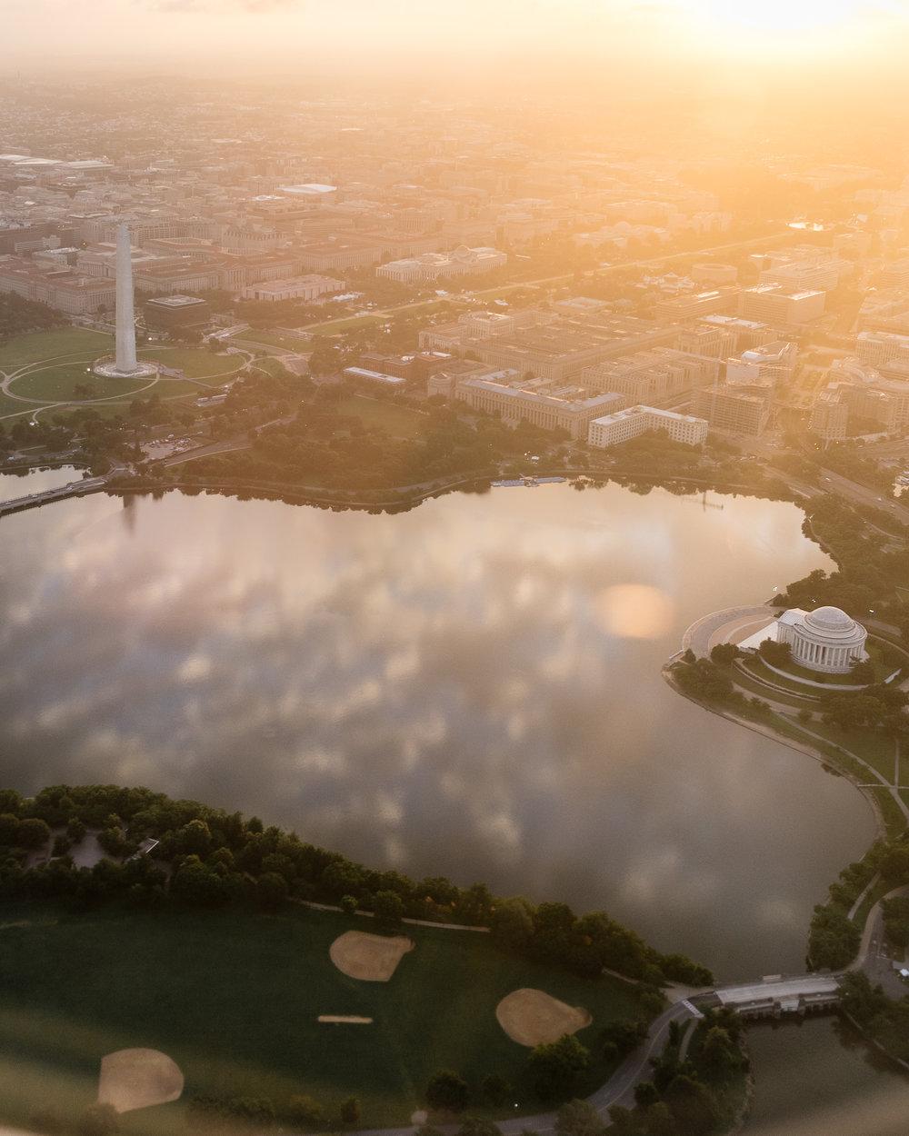 Good Morning, Washington (and Jefferson)