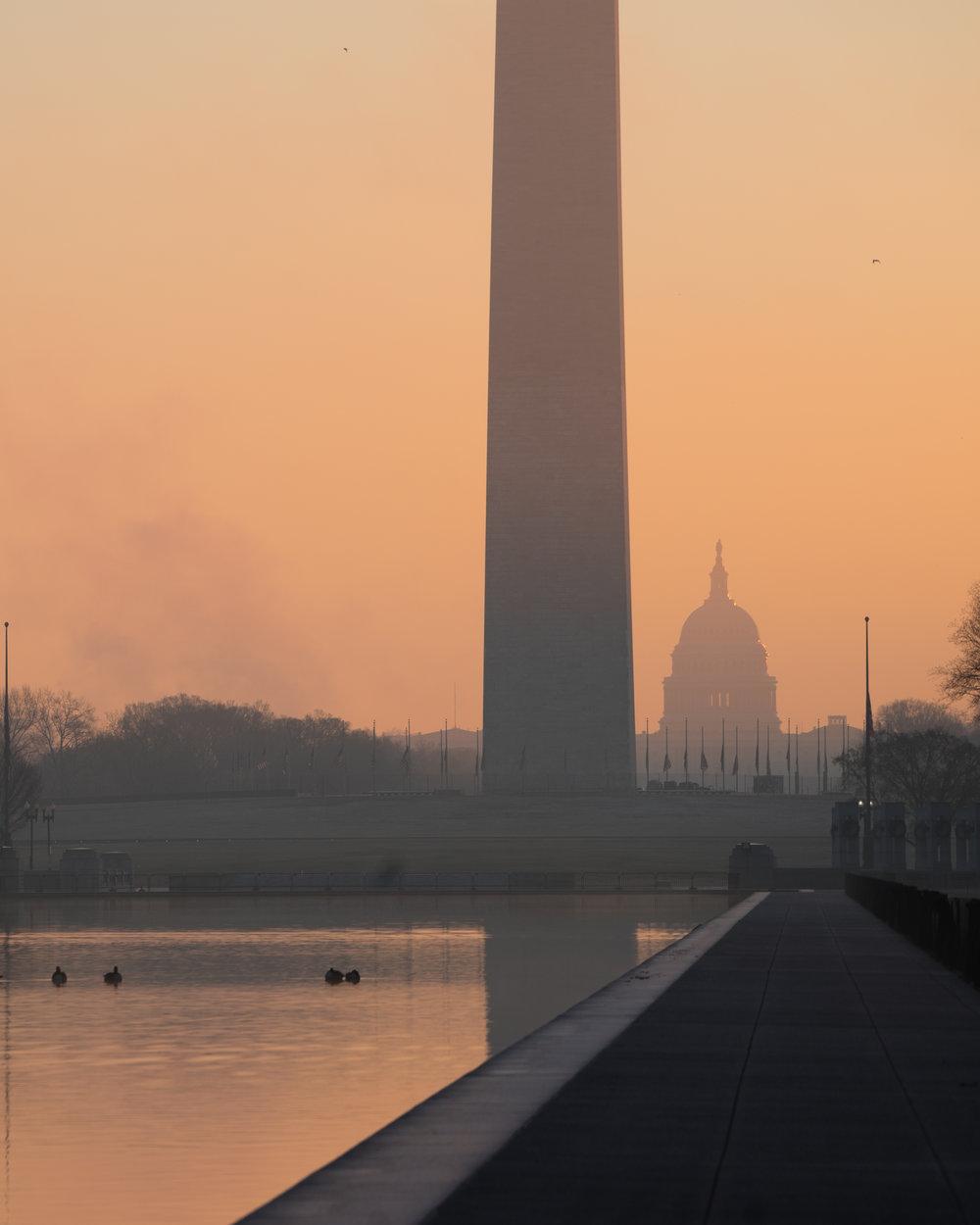 Freezing Warm Sunrise