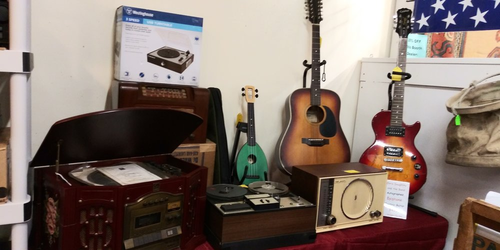 Musical instrument themed treasures