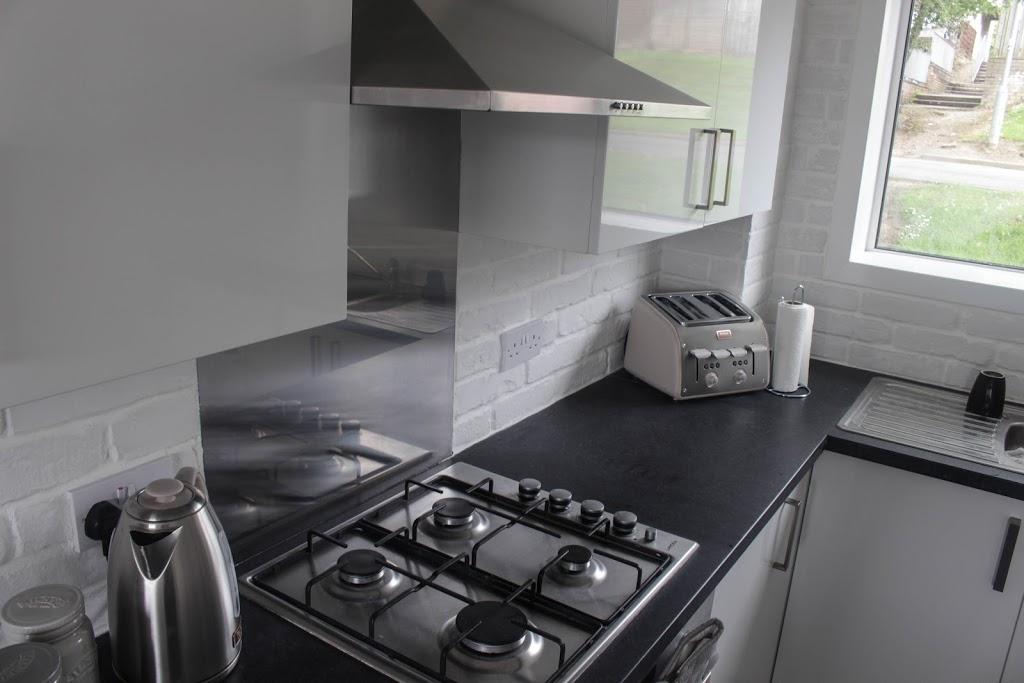 Transform New Kitchen White Brick Wall Scandinavian Wayfair Table Cheap Worktops