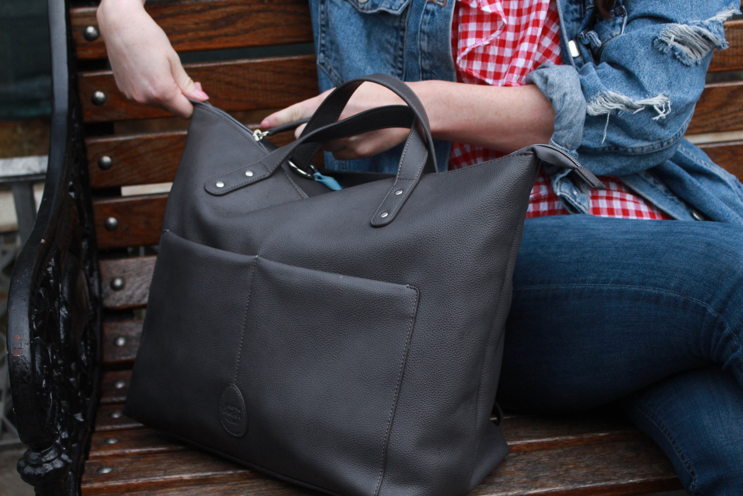 Pacapod Saunton cheap leather changing bag