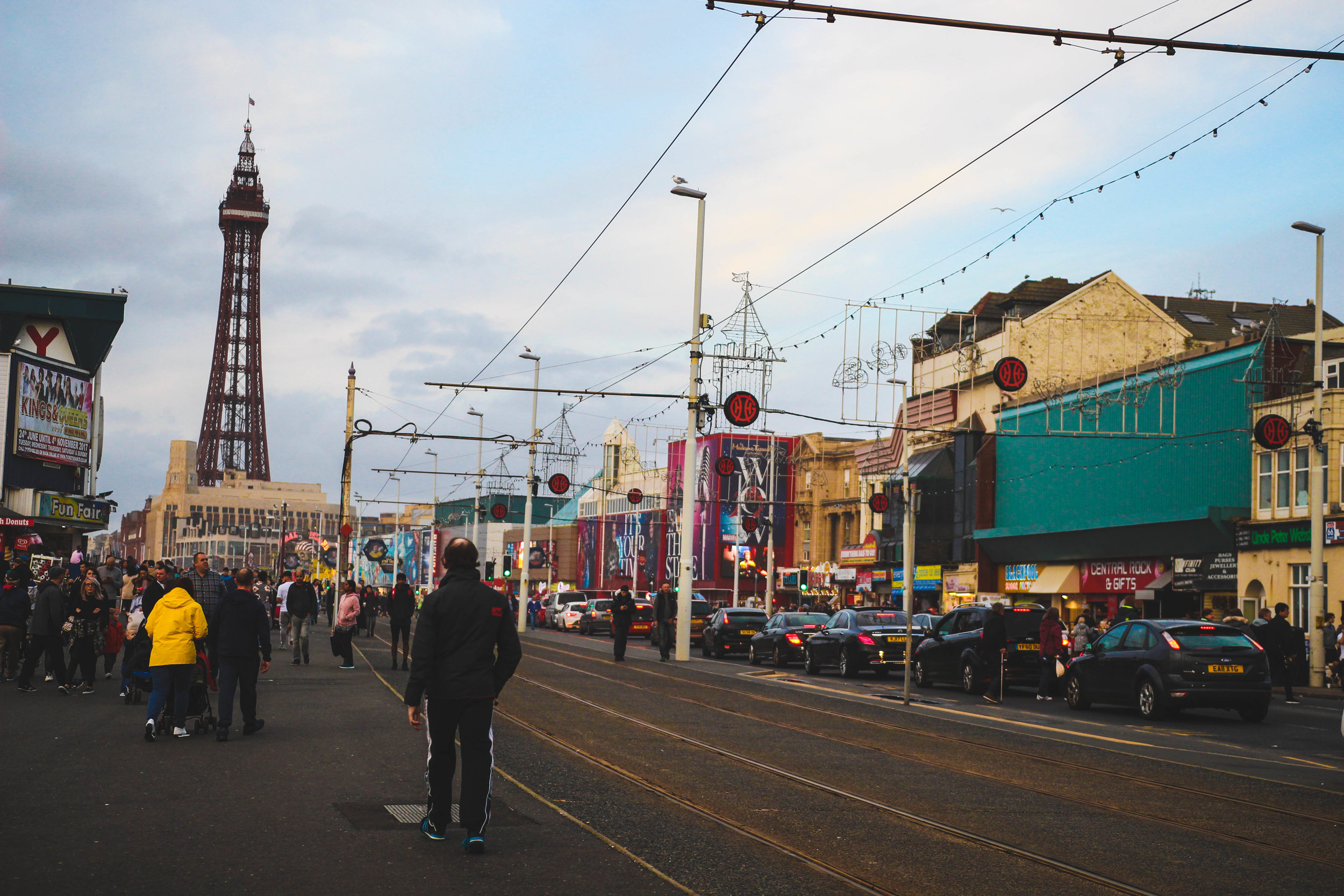 Blackpool With A Toddler