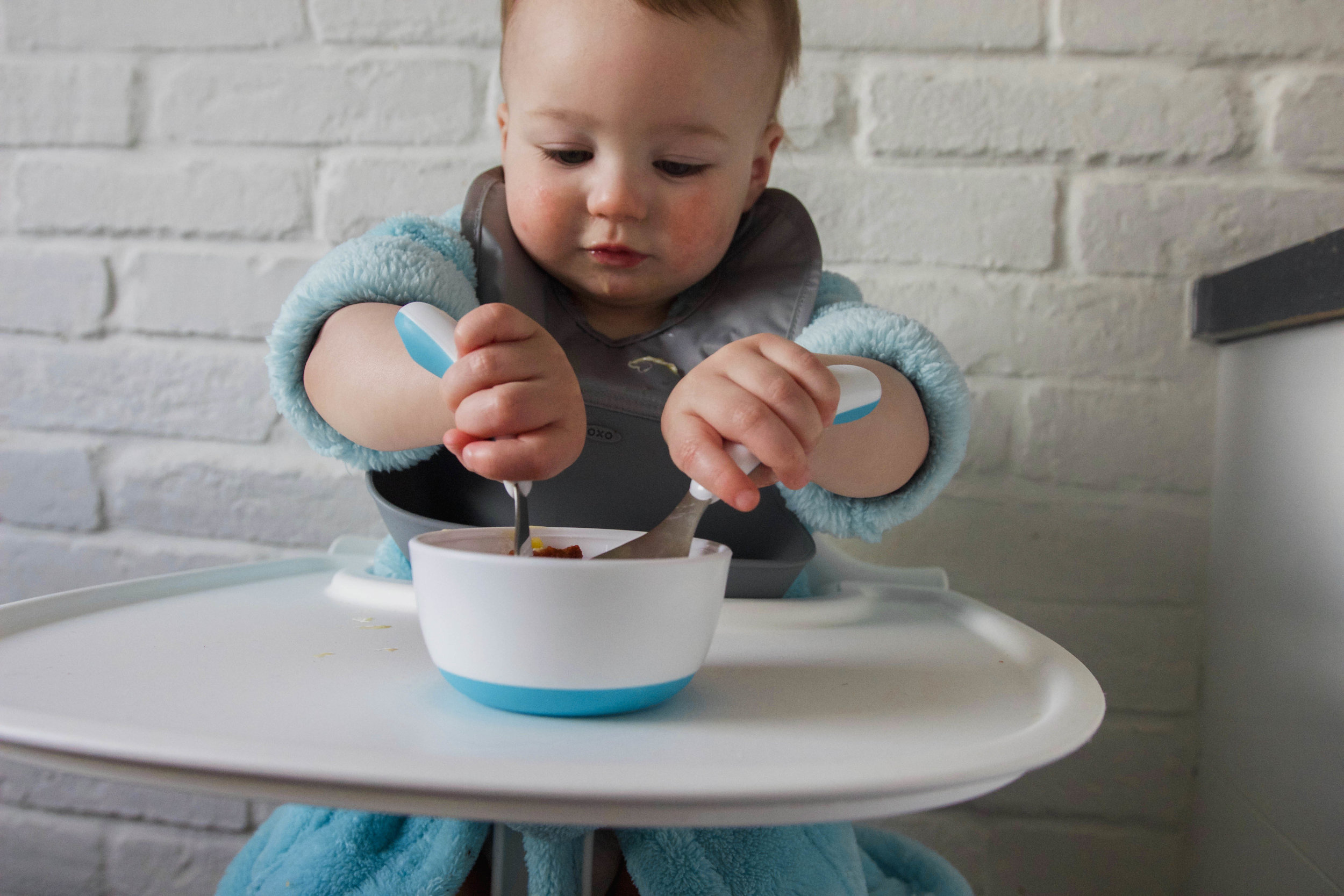 OXO Tot Review Baby Feeding First Cutlery Set