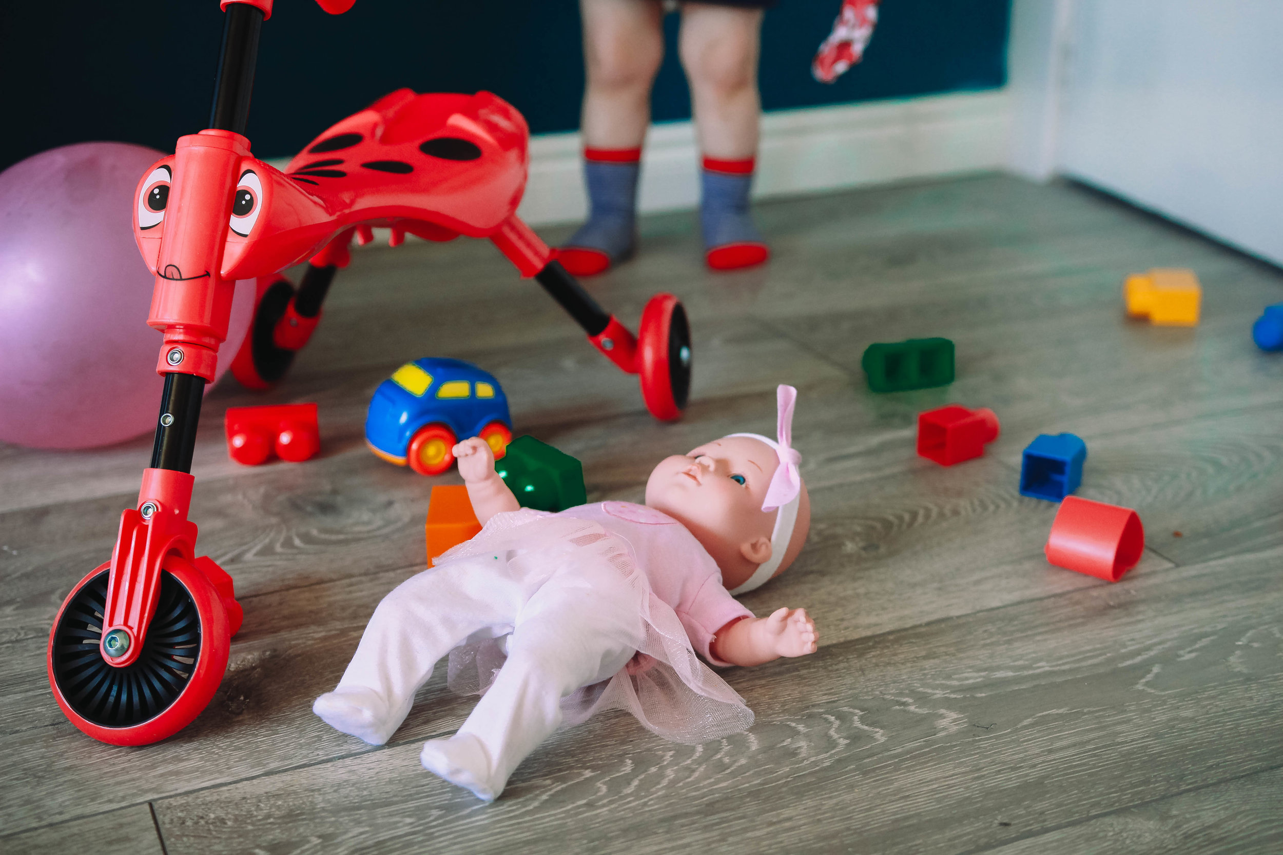 boys can't play with dolls gender stereotyping