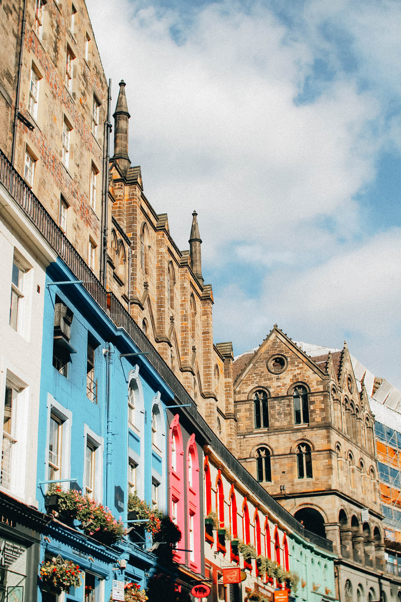 Edinburgh with kids queen street