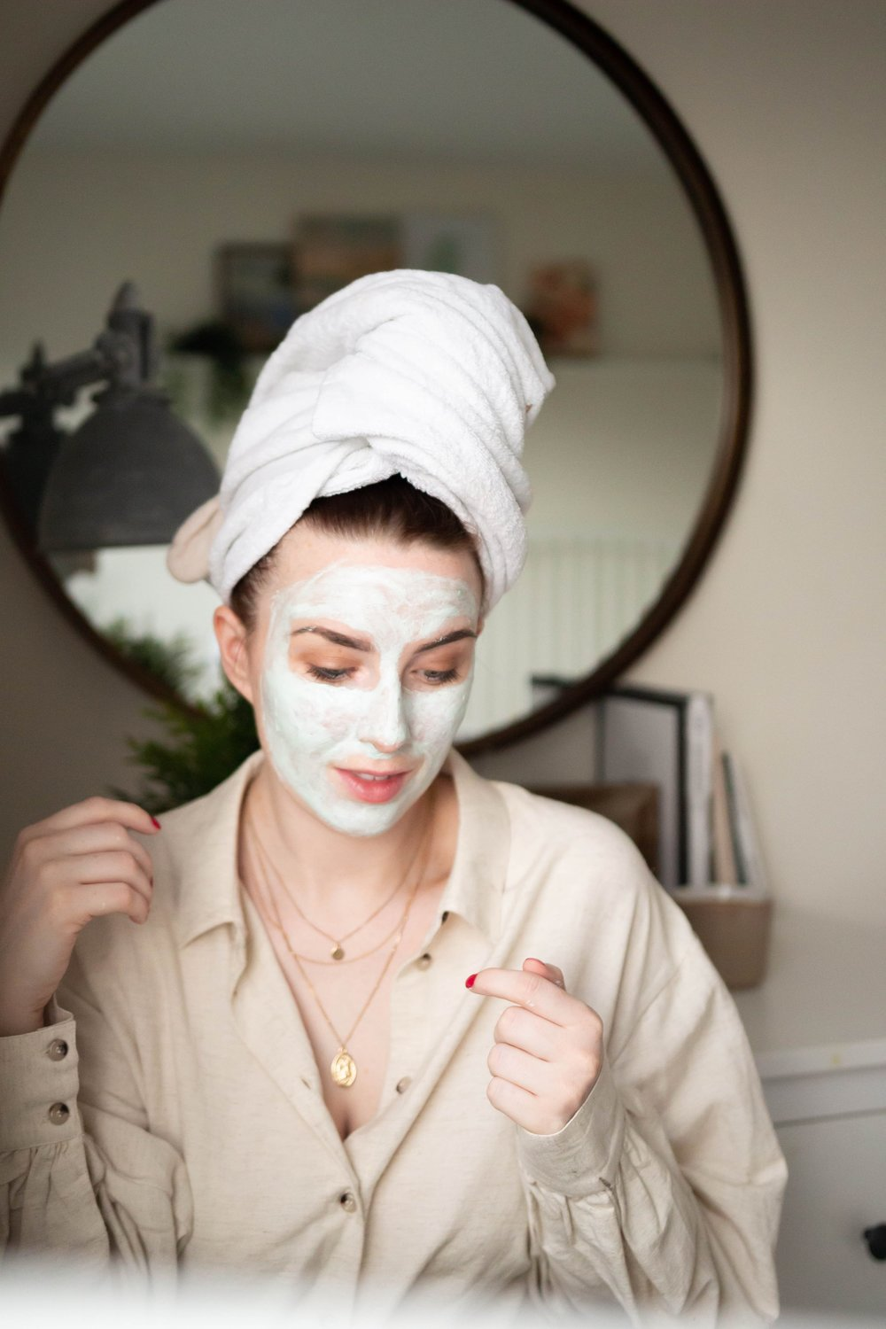 face mask self care life with boys