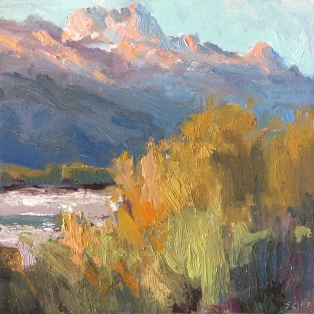 Color in Plein Air - June 22 - 23, 2019Art Association of Jackson HoleJackson Hole, WYartassociation.orgExperience the grandness of the Tetons through Plein Air Painting!This 2-day workshop dives into the spirit of plein air painting – responding to nature through direct paint application and expressive color. We'll discuss the importance of developing a personal voice through site selection, composition, values and most of all COLOR!!