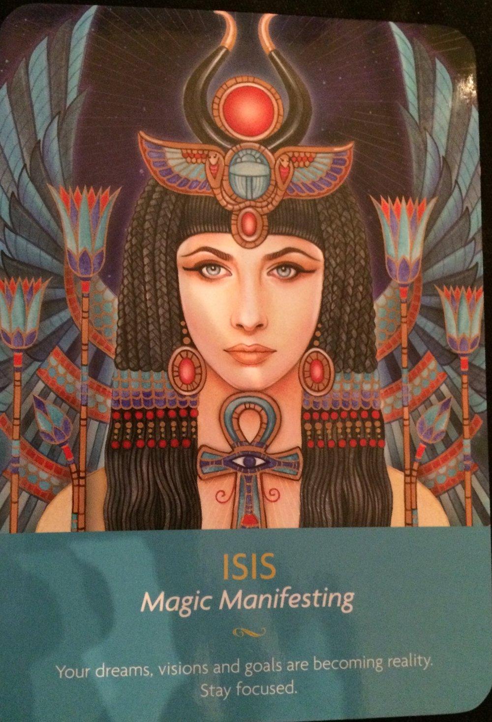 Isis - Magic Manifesting