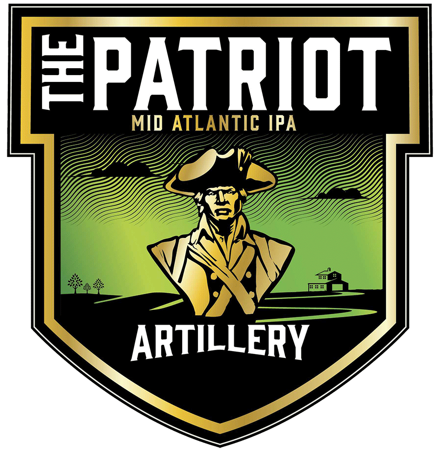 The Patriot - Strong and dedicated to the principles of a forming nation. The ale, just like the person - man, woman or child - desires to be the rock of stability in the midst of swirling chaos. Even as some clouds may surround The Patriot, the core values shine through: a rich malt backbone, bright and energetic hop aromas, and a look that tells you it can be relied upon to be true, sip after glorious sip.MID ATLANTIC IPA - 7.5%ABV