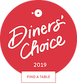 OT Diners Choice Small Badge Find a Table
