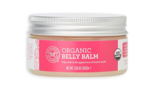 Honest Organic Belly Balm -