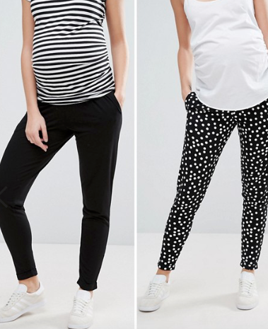 Soft Maternity Pants - These are a double pack!