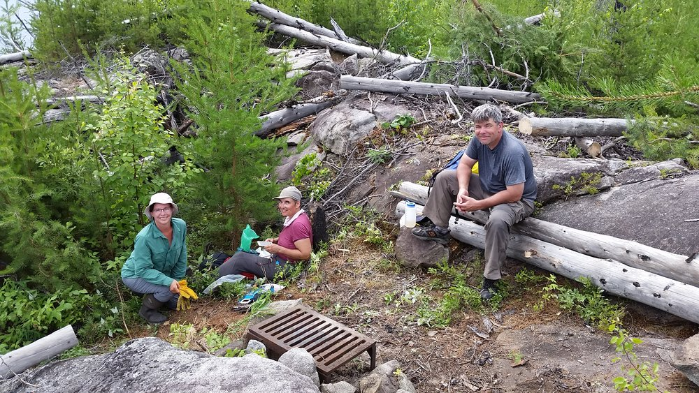 July 18-22 - Wilder Campsite Recovery  ©Jim Ryan