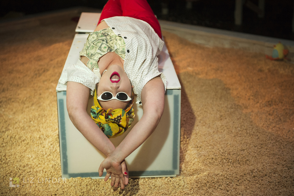 Vocally fearless, fizzing with theatrical commitment - The Boston Globe