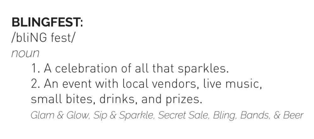 BlingFest Definition
