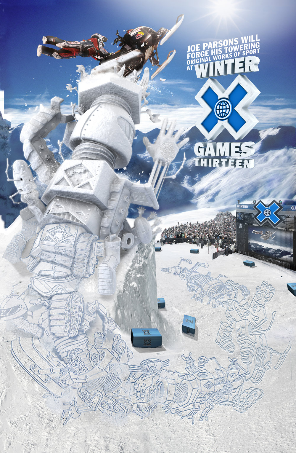 Poster for ESPN WINTER XGAMES.