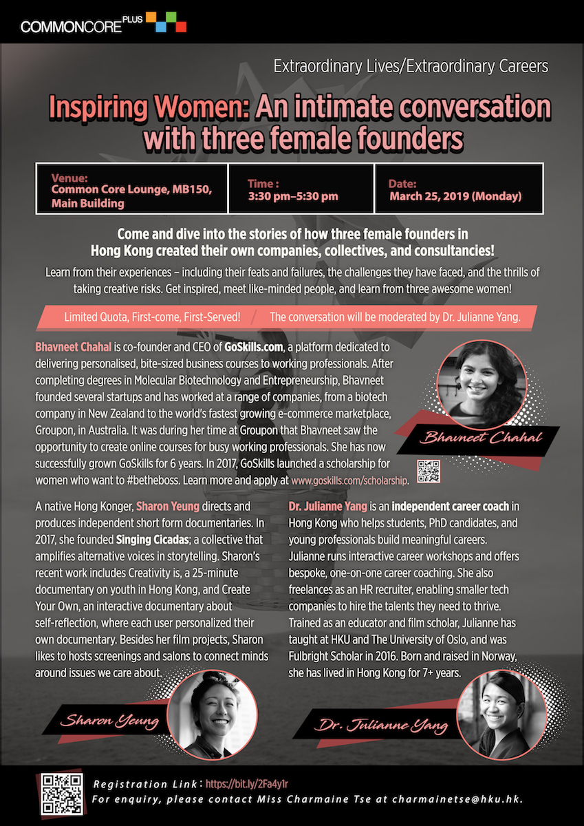 Inspiring Women: An intimate conversation with three female founders