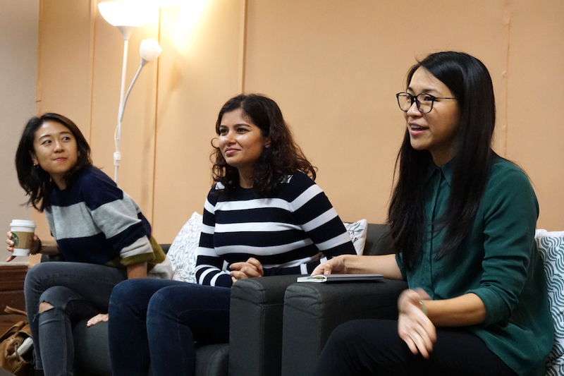 """From """"Inspiring Women: An intimate conversation with three female founders"""", organized in collaboration with the Common Core office at The University of Hong Kong."""