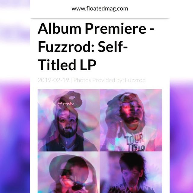 Our friends at @floatedmagazine are premiering Fuzzrod's first full length! Head over, listen to the album, and join Fuzzrod on Friday night at @bugjarshows as they celebrate the release! 180-Gram LP and CD are up for preorder on our site, and limited cassettes over at our friends @dadstacherecords! #fuzzrod #youwannagocrazygonuts #recordsofchoice #rochester #rochestershows #rocnightlife #roctopshots #iheartroc #vinyl #vinylcollection
