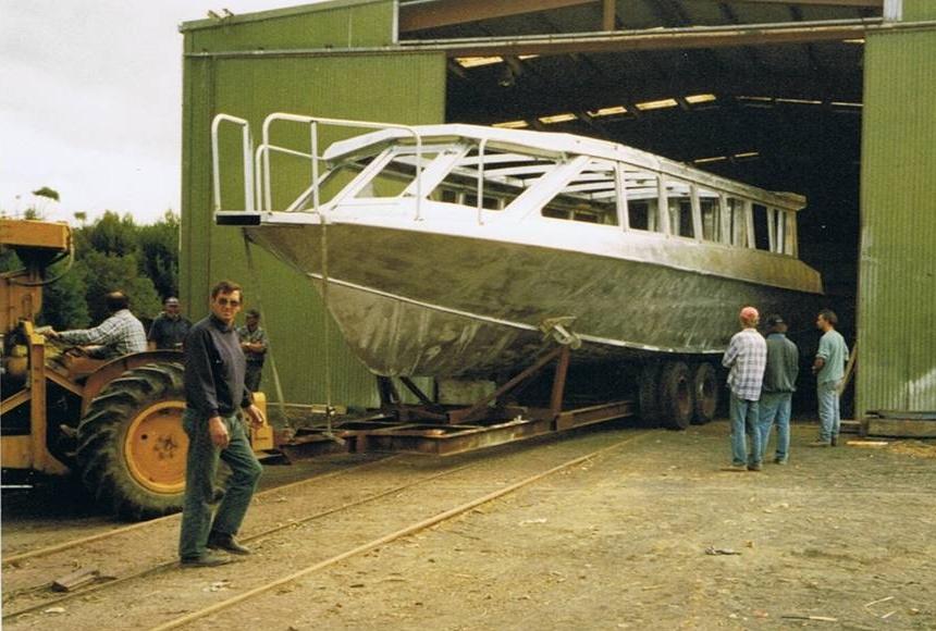Spirit of the Coorong at The Captain Sturt Marina
