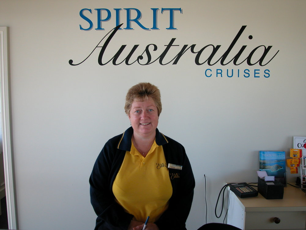 Petrea Bartlett - Petrea began working with us 1999 and is responsible for the management of our office and cruise scheduling