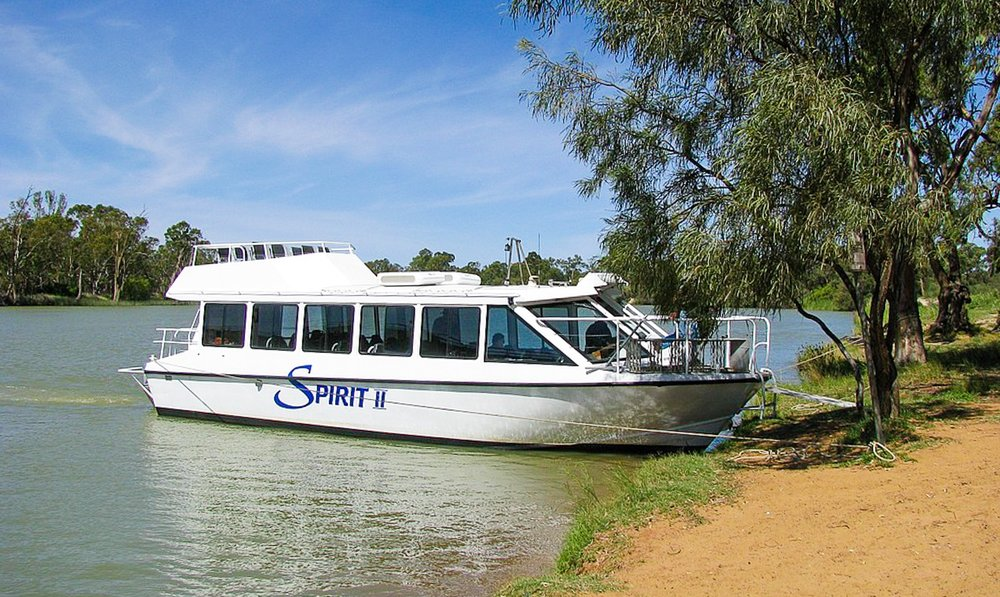 Spirit 2 - Built in 2002 Spirit 2 is 13 metres long powered by twin 250hp honda motors, cruising speed 20 knots. Toilet equipped, seating for up to 32 passengers