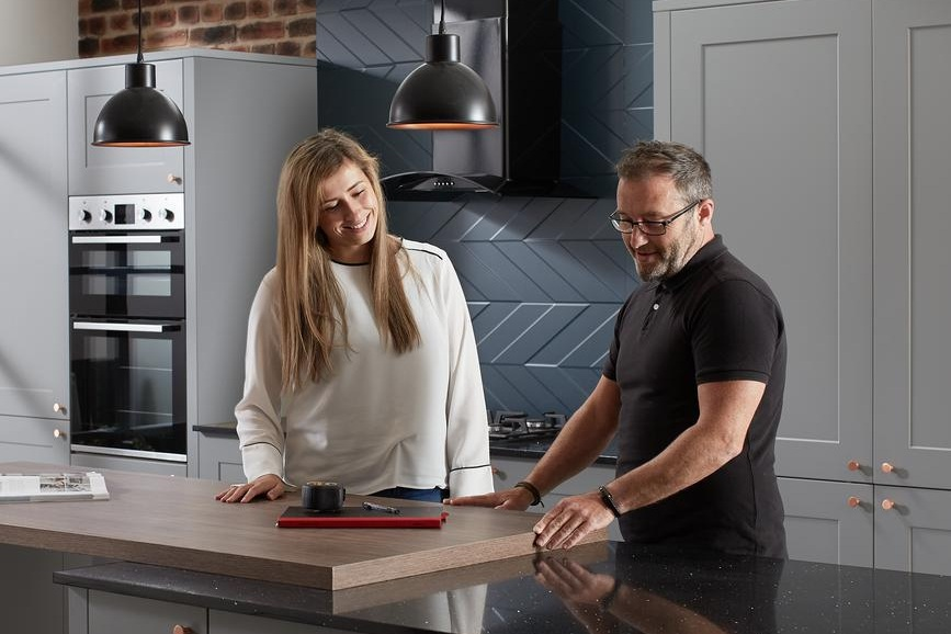 6. Pre-Delivery Cabinet and Bench top inspection - As our fabrication is completed in-house, prior to delivery and installation, we will invite you to inspect your cabinets and bench tops to ensure you are satisfied.