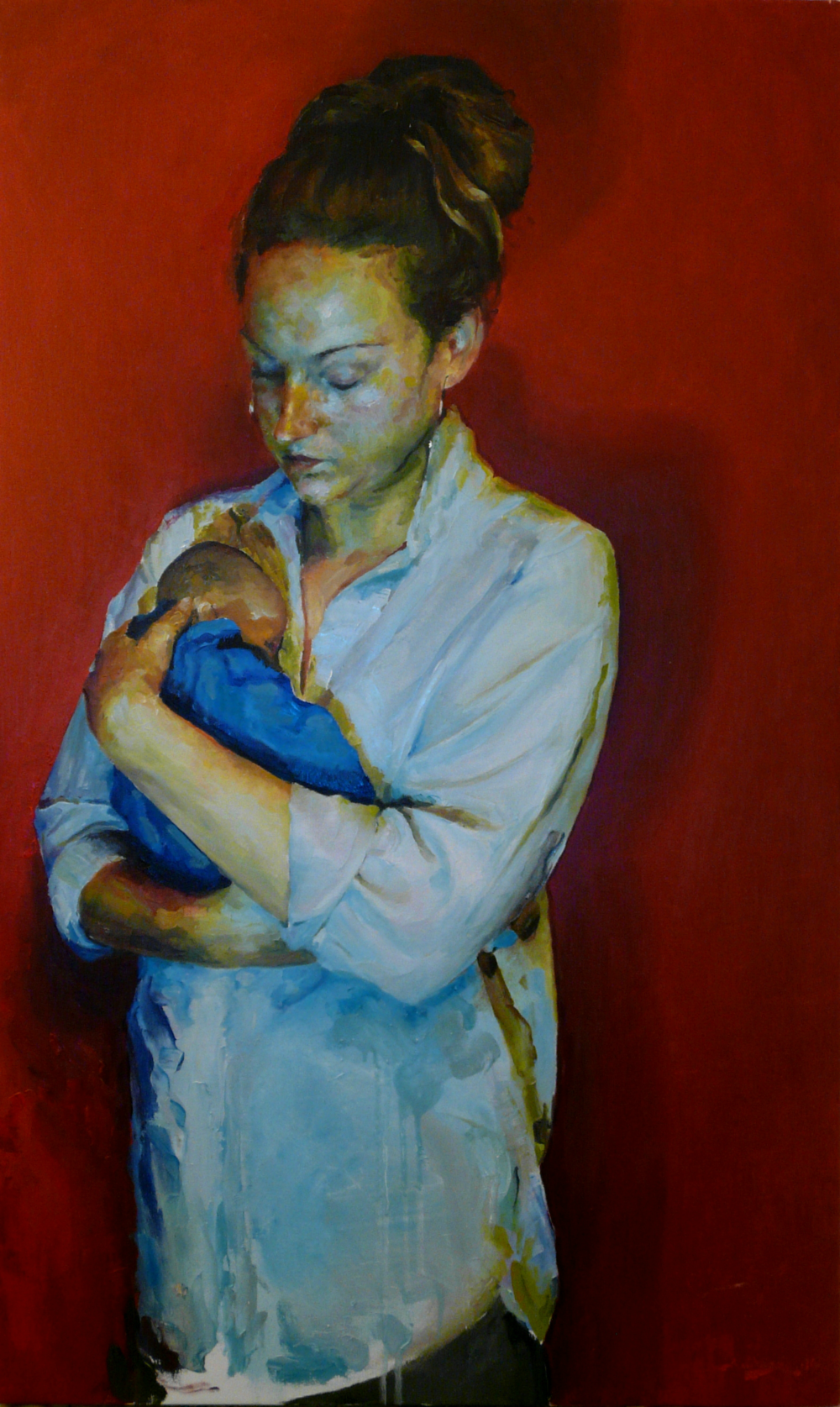 24th and Uteroad Oil on canvas | 100 x 60cm