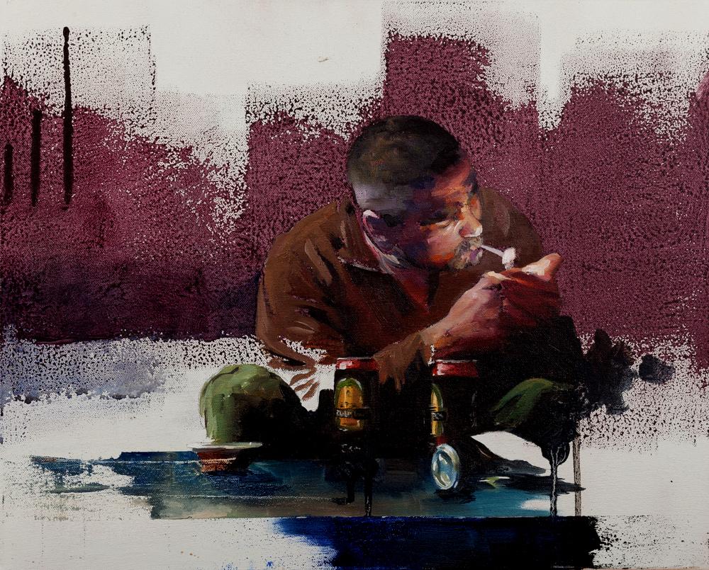Crow Soup Oil on canvas | 40 x 50cm