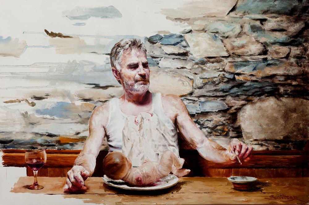 Kristiania Study  Oil on canvas | 50 x 60cm