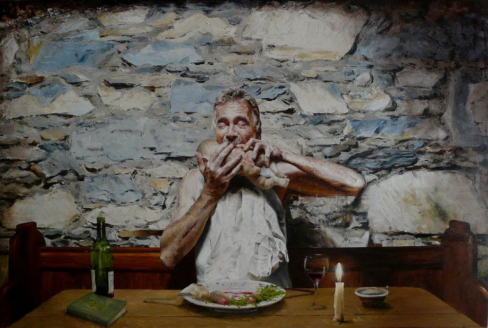 Kristiania Oil on canvas | 100 x 150cm