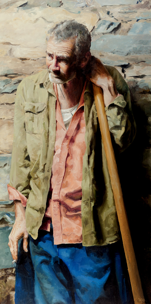 Sisyphus Study #2 Oil on canvas | 100 x 60cm