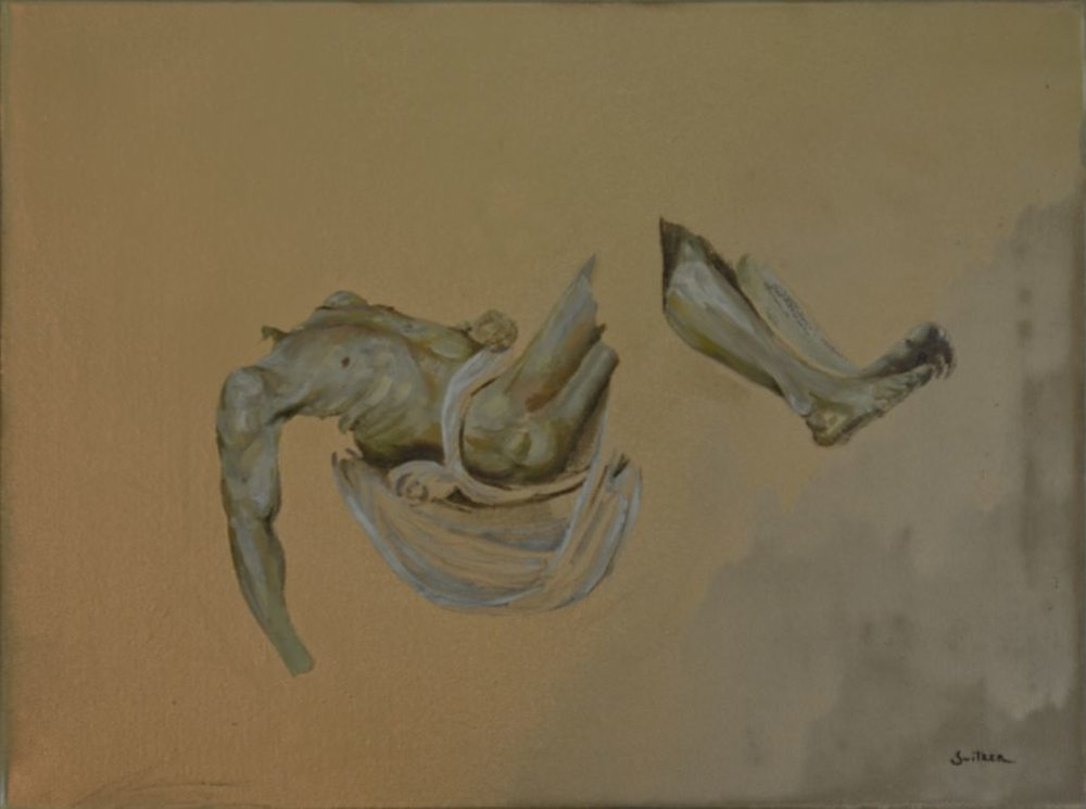 Entombment Of Christ  Oil on canvas | 46 x 61cm