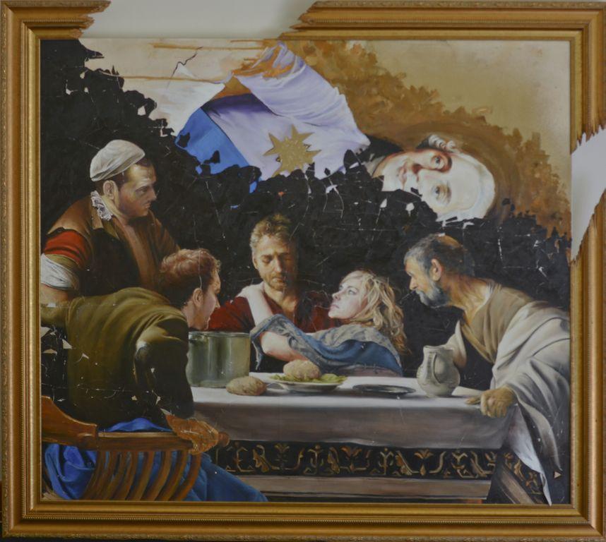 Revolution Eve  Oil on canvas | 107 x 122cm