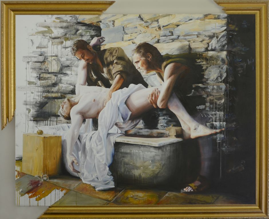 Water To Wine  Oil on canvas | 122 x 153cm
