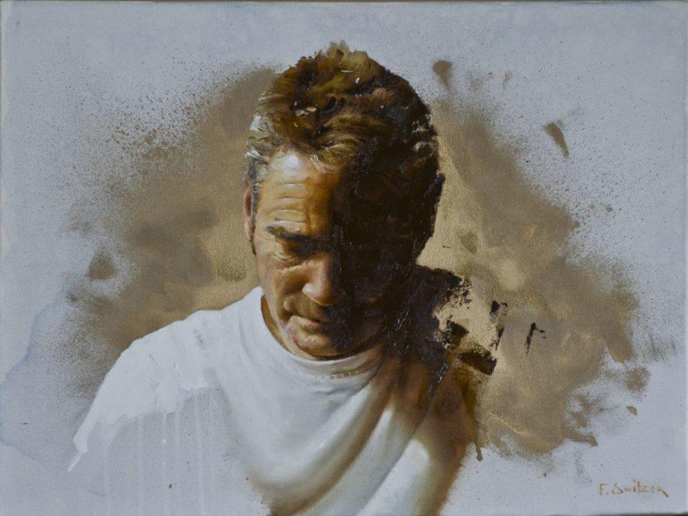 Revolution Study  Oil on canvas | 46 x 61cm