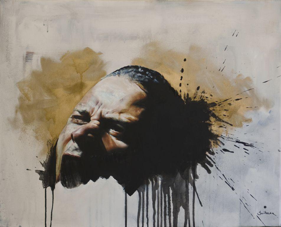Tahrir Oil on canvas | 61 x 76cm
