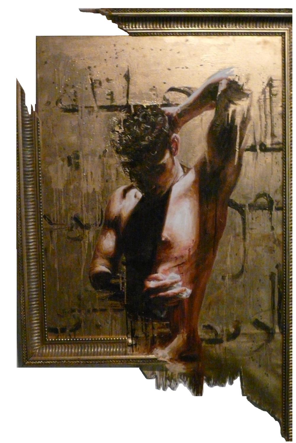 Post Oppression Depression Oil on canvas | 100 x 85cm