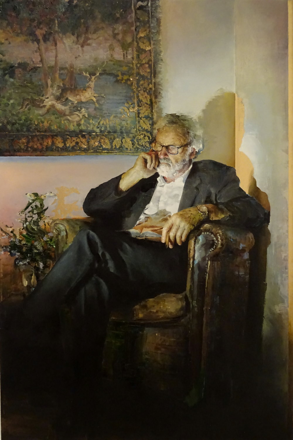 Doctor in Repose | 120 x 80cm