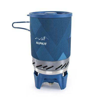 Stove + pot + gas - BruKit