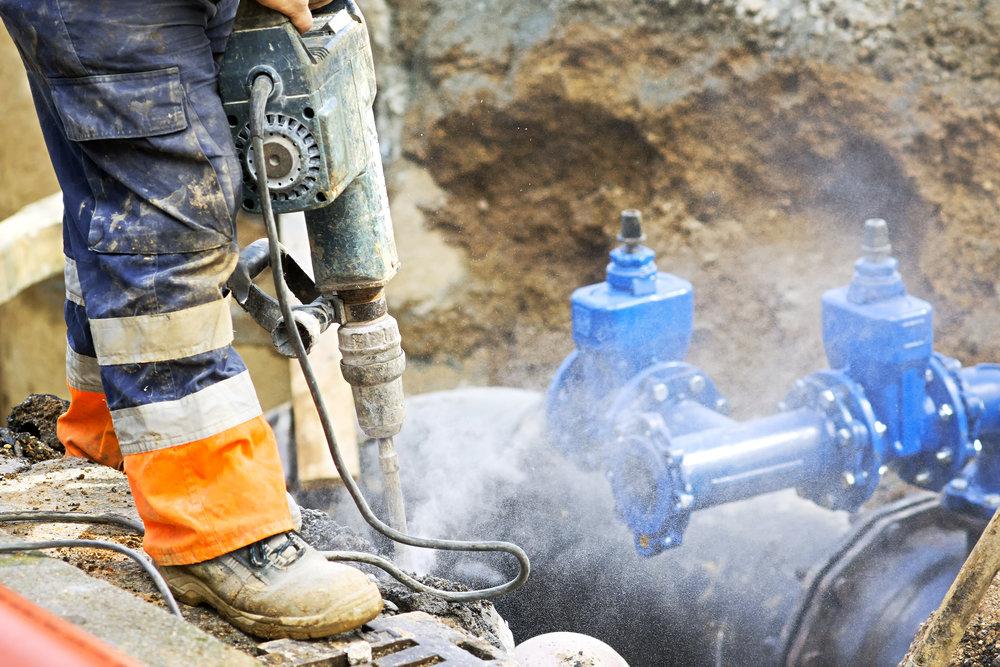 Utilities, Gas Line Repair & Installation