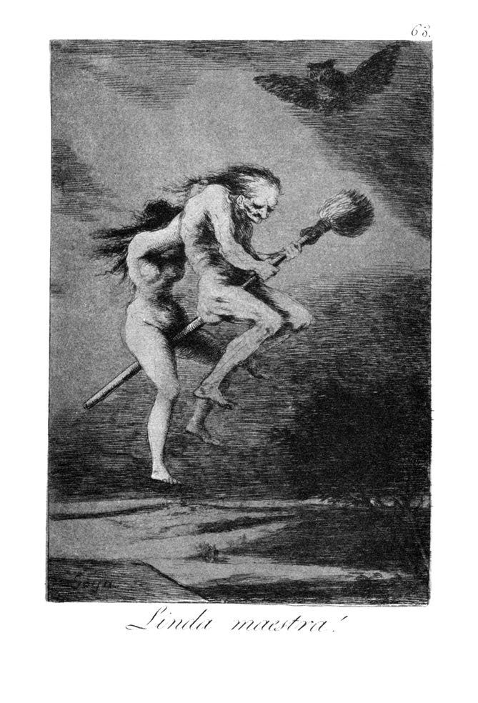 ''Los Caprichos'' is a set of 80 aquatint prints created by Francisco Goya for release in 1799.