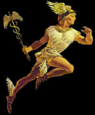 Hermes, Swift-footed and Golden One.