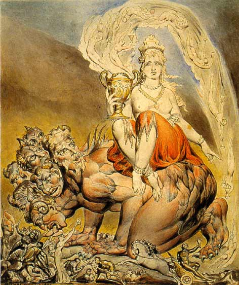 """Whore of Babylon"" by William Blake."