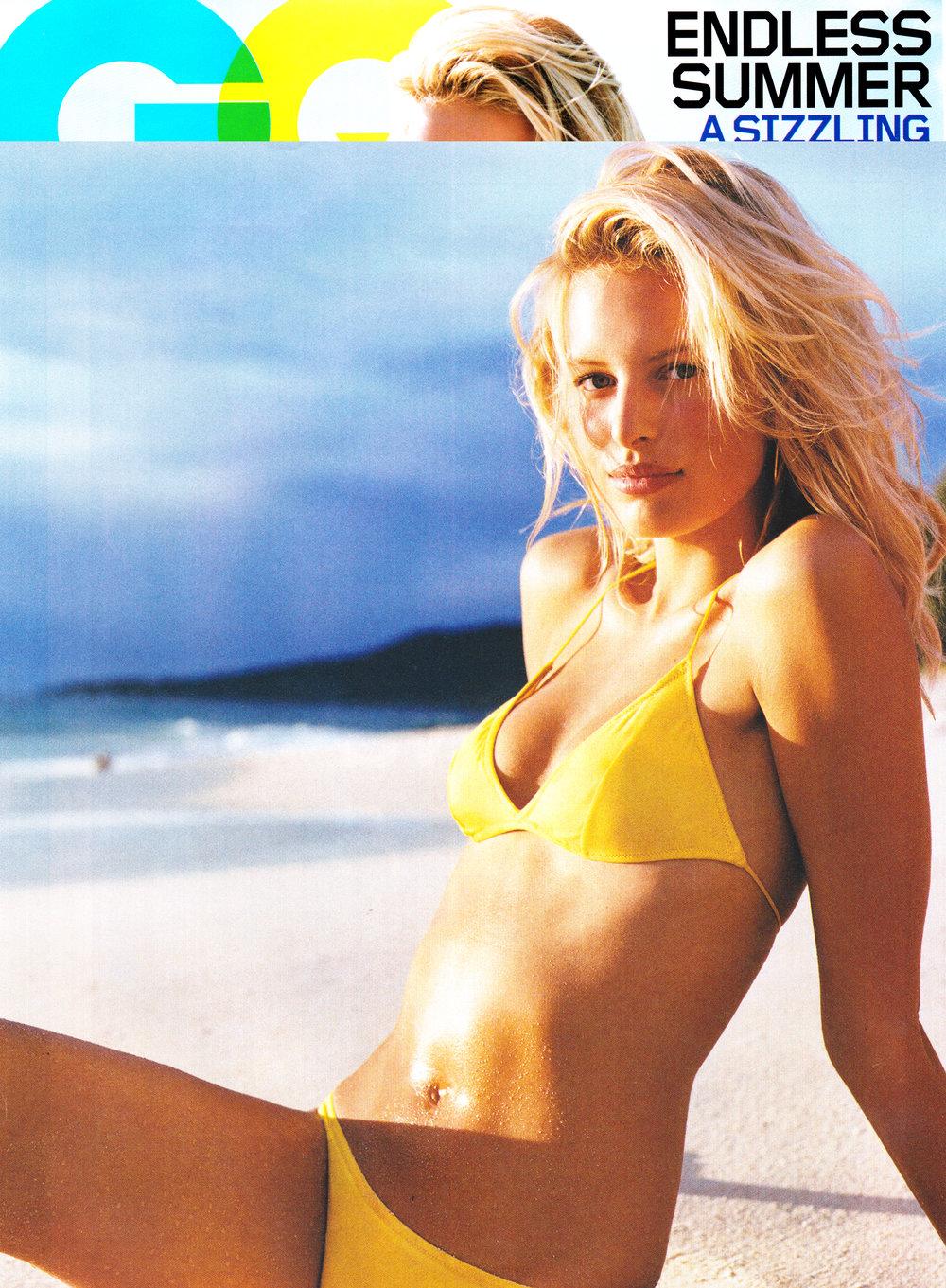 Karolina Kurkova - GQ US 2004